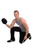 释放重量锻炼 免版税库存图片