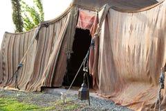 巴巴里人帐篷在索维拉,摩洛哥 免版税库存图片