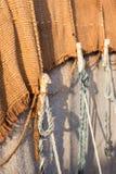 巴巴里人帐篷在索维拉,摩洛哥 库存照片