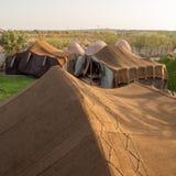 巴巴里人帐篷在索维拉,摩洛哥 图库摄影