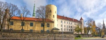 里加城堡01 免版税库存图片