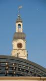 里加城镇厅塔看法  库存照片