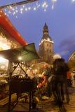 里加大教堂(里加Dom) 免版税库存照片