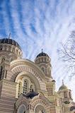 里加正统大教堂01 库存图片