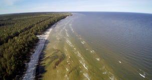 里加湾,波罗的海 库存照片