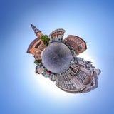 里加老镇地平线  免版税图库摄影