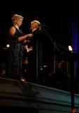 里加节日2013露天歌剧音乐音乐会。 免版税库存图片