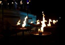 里加节日2013露天歌剧音乐音乐会。 图库摄影