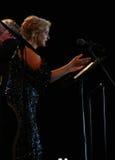 里加节日2013露天歌剧音乐音乐会。 免版税图库摄影