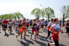 里加马拉松2013年 免版税库存照片