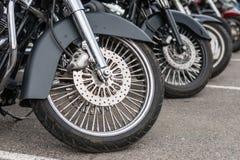 里加,拉脱维亚- 2018年4月28日:2018年Moto季节开幕活动 A 免版税库存照片