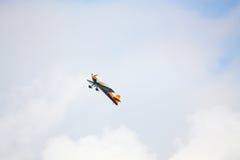 里加,拉脱维亚- 8月20 :从日本S的芳荣Muroya的飞行员 库存图片