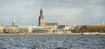 里加,拉脱维亚 库存图片