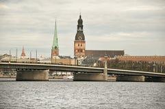 里加,拉脱维亚 库存照片