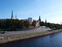 里加 拉脱维亚 免版税库存图片