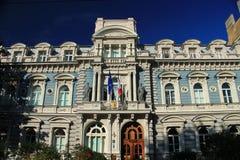 里加 法国大使馆 库存照片