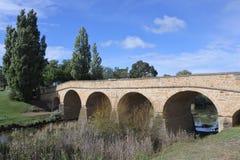 里士满桥梁在里士满塔斯马尼亚澳大利亚 库存图片