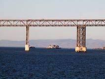 里士满圣拉斐尔桥梁加利福尼亚 免版税库存照片