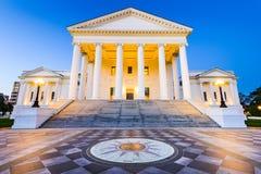 里士满弗吉尼亚状态国会大厦 库存图片