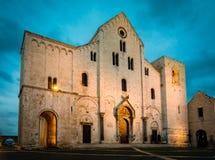 巴里大教堂 免版税图库摄影