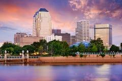 什里夫波特,路易斯安那地平线 免版税库存图片