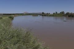 里奥格兰德,新墨西哥视图 库存图片