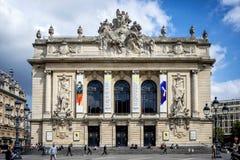 """里尔†""""法国:歌剧大厦在里尔 里尔是城市在法国的北一角,用法语富兰德 免版税库存照片"""