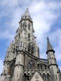 里尔大教堂 免版税库存图片