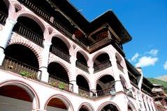 里拉修道院,保加利亚修道院复合体  库存照片
