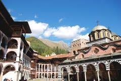 里拉修道院,保加利亚圣约翰  免版税库存图片