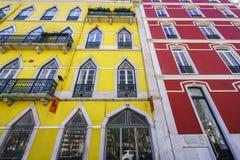 里斯本典型的大厦 库存照片