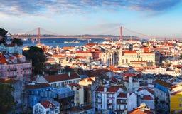 里斯本地平线,葡萄牙 免版税库存照片