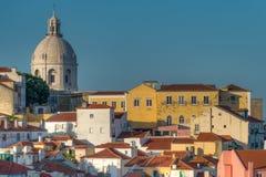 里斯本地平线,葡萄牙 库存照片