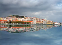 里斯本地平线 免版税图库摄影