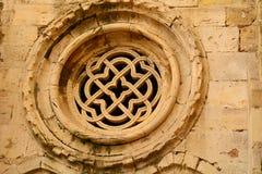 里斯本大教堂修道院有网眼图案的 库存照片