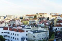 里斯本市天线,葡萄牙 库存图片