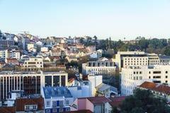 里斯本市天线 图库摄影