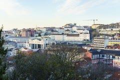里斯本市天线 库存照片