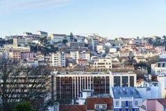 里斯本市天线 免版税图库摄影