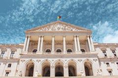里斯本市政厅在里斯本 免版税库存照片