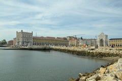 里斯本市葡萄牙,口岸 图库摄影