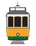 里斯本电车轨道 向量例证