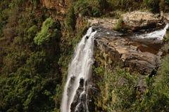 里斯本秋天从布莱德河峡谷,南非关闭  非洲横向 瀑布 图库摄影