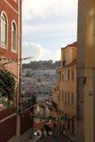 里斯本葡萄牙市旅行 免版税图库摄影