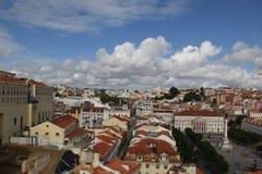 里斯本葡萄牙市旅行 免版税库存照片