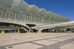 里斯本葡萄牙Oriente火车站 库存照片