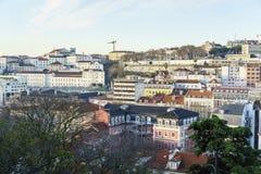 里斯本都市风景,葡萄牙 免版税库存图片