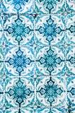 里斯本,葡萄牙五颜六色的墙壁瓦片设计  库存图片