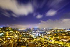 里斯本,葡萄牙城堡 免版税库存图片
