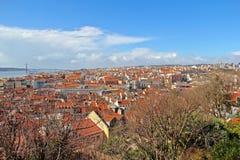 里斯本,葡萄牙首都和大城市 库存图片